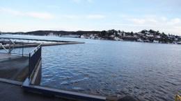 TRYGT I LAND: Tromøy-politiker Rune Sævre (SV) ønsker redegjørelse fra ordføreren om status for et ferjeanløp i Barbu, slik at det blir trygt og lett å komme i land også her. Foto: Esben Holm Eskelund