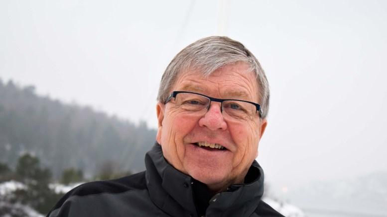 BÆREBJELKE: Magne Knutsen på Tybakken er en av bærebjelkene i den snart 100 år gamle Granerevyen som hvert år spilles i Arendal kulturhus. Foto: Esben Holm Eskelund