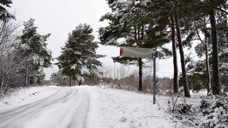 GLEMT SKILTING: Kommer du til Raet Nasjonalpark fra denne retningen, møtes du av manglende skilting. Foto: Esben Holm Eskelund