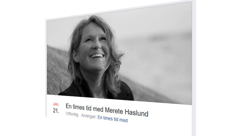 EN TIMES TID...: Merete Haslund fra Tromøy holder konsert i Barbu kirke førstkommende søndag. Foto: Facebook