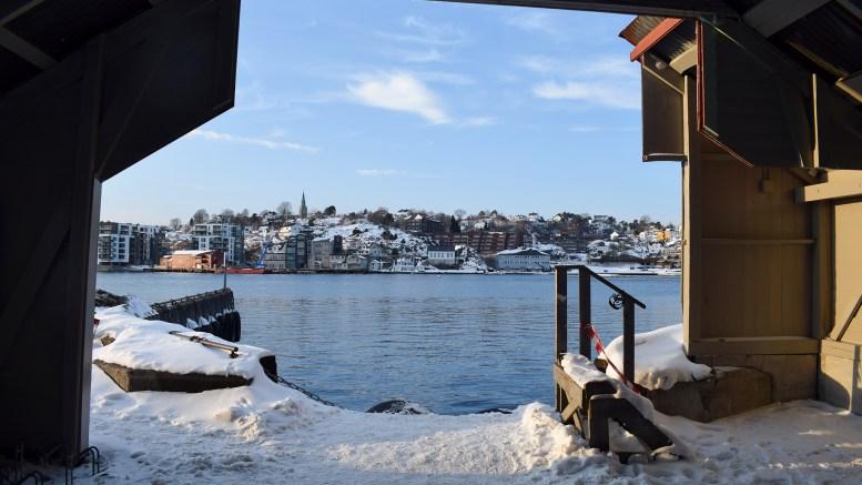 SKILSØFERJA: Selskapet som driver lokalferjetrafikk til og fra Tromøy er truet av konkurs. Foto: Esben Holm Eskelund