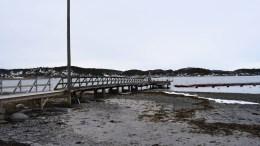 NY BRYGGE: Den offentlige brygga på Hove skal bli ny. Foto: Esben Holm Eskelund