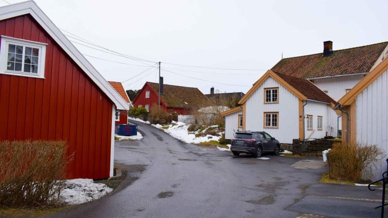 TORJUSHOLMEN: Halvøya vest på Tromøy bærer et mannsnavn. Foto: Esben Holm Eskelund