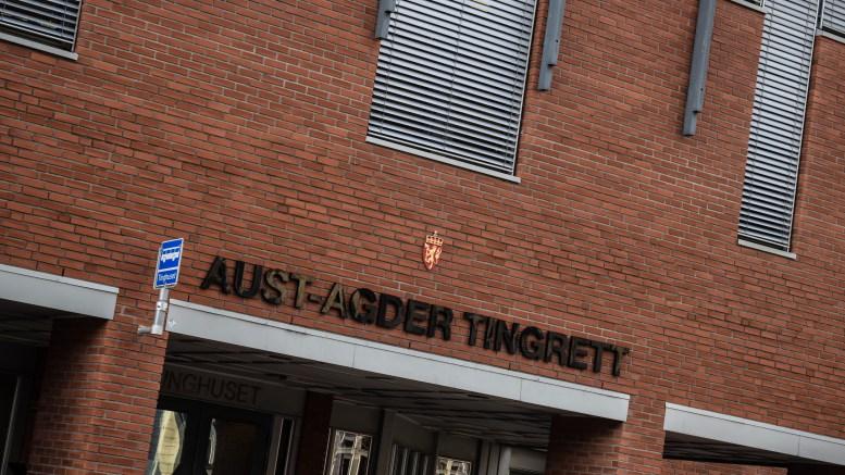 FALSKE SKILTER: En tromøymann ble tatt med blant annet falske bilskilter. Foto: Esben Holm Eskelund