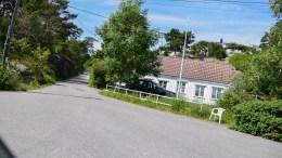 SILDEVIG: Lite bostedsområde i ei bukt. Foto: Esben Holm Eskelund