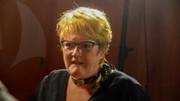 KULTURMINISTER: Trine Skei Grande (V) etter partilederdebatten under Arendalsuka 2018. Foto: Esben Holm Eskelund