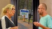 BREV TIL ORDFØREREN: Høyres bystyrepolitikere Benedikte Nilsen og Roar Gundersen stiller flere spørsmål om Hove-prosjektet i et brev til ordføreren. Foto: Esben Holm Eskelund/Montasje