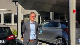 OMSORGSTURNE: Ordfører Robert C. Nordli (Ap) besøkte Tromøy i forbindelse med sin besøksrunde i helse- og omsorg fredag. Foto: innsendt