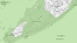 RAET NASJONALPARK: Hvor går grensene, og hva er nasjonalparkstyrets rolle? Denne pressemeldingen fra Raet Nasjonalparkstyre forklarer. Kart: Raet Nasjonalpark