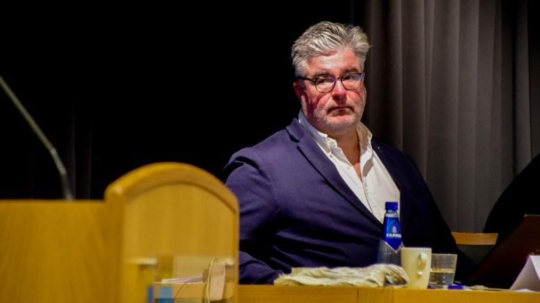 LOOK TO TROMØY: Opposisjonsleder Geir Fredrik Sissener (H) trekker frem barnehageenheten på Tromøy som et godt eksempel på godt lederskap. Foto: Esben Holm Eskelund