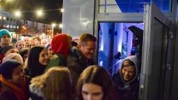 ARTISTSLIPP: Tom Rudi Torjussen var «innslipper» under lanseringen av Hove Music Festival 2019 ved Arendal kulturhus fredag. Nå er han med på å lande hvem som skal ut på Hove-scenene. Foto: Esben Holm Eskelund