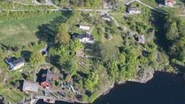 NÆRINGSFORMÅL: Kommuneplanutvalget i Arendal vil se nærmere på innspillet til kommuneplanens arealdel om å gjøre en større del av eiendommen på Roligheten om til næringsformål. Foto: fra saksfremlegget
