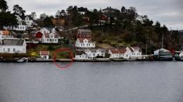 TETT I TETT: Bryggene på Skilsø er allerede bygget, og nå gir politikerne dispensasjon slik at de blir godkjent. Foto: Esben Holm Eskelund