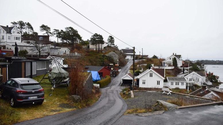 BUKTA: I Bukta er det bakke i begge ender. Foto: Esben Holm Eskelund