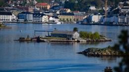 LILLE SKOTTHOLMEN: Det finnes både en stor og en liten utgave i Galtesund. Foto: Esben Holm Eskelund