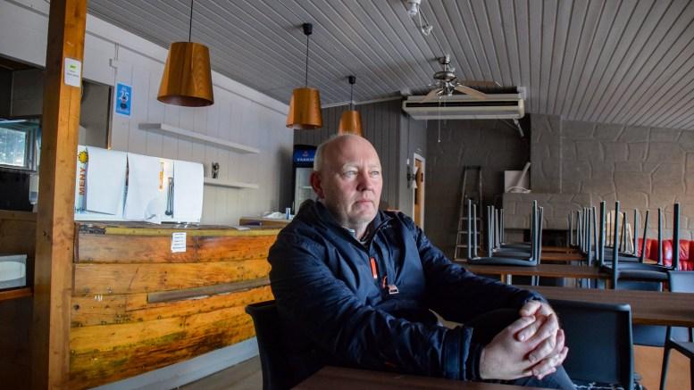 ALLMENNHETEN SKAL SIKRES: Daglig leder Terje Stalleland i Hove drifts- og utviklingsselskap AS er oppgitt over Hove-debatten. Foto: Esben Holm Eskelund