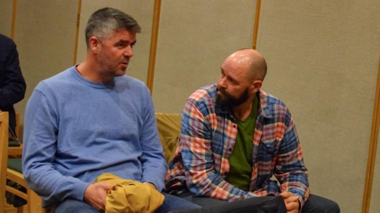 CANVAS HOVE: Espen Bierud (t.v.) og Jan Fasting i Canvas Hove mener selskapet gjorde en kjempetabbe da de lanserte nyheten om utviklingen av Hove Camping. Arkivfoto: Esben Holm Eskelund