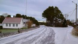OMDISKUTERT: Heter stedet Brekka eller Brekke? Det er det delte meninger om. Foto: Esben Holm Eskelund