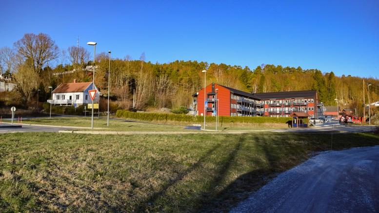 FÆRVIK: Tidligere hovedknutepunkt på Tromøy. Foto: Esben Holm Eskelund