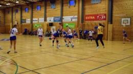 HJEMMETAP: Trauma-jentene klarte ikke hamle opp med Forus Gausel på hjemmebane i Tromøyhallen søndag. Arkivfoto