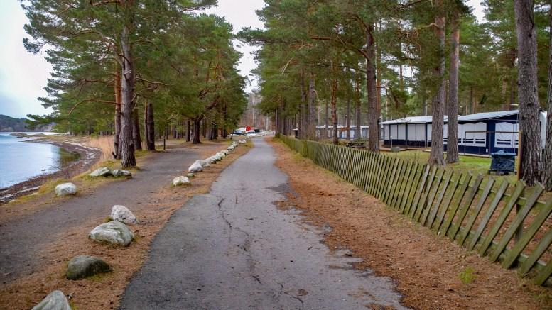 HOVE CAMPING: – Det er ingen tvil om at en campingplass på Hove med enkle grep og nevnte lån kunne blitt et reiselivsanlegg å være stolt av, mener Christin Haslestad. Foto: Esben Holm Eskelund