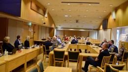 UTSETTE BYGGESTART: Torbjørn Nilsen (Frp) mener barnehagebygging på Marisberg ikke må starte før det er solgt 30 prosent av boligene i første byggetrinn. Det er ikke opvekstkomitéen enig i, som vil at en ny barnehage skal åpnes senest 1. januar 2021. Foto: Esben Holm Eskelund