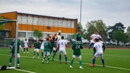 RISØR-TRAUMA: Se bildene fra kampen mellom Risør Fotball og Trauma Fotball i femtedivisjon på Kjempesteinsmyra. Foto: Esben Holm Eskelund