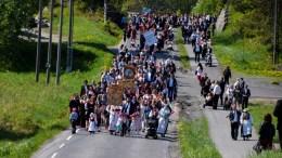 NORGES NASJONALDAG: Fredag feires nasjonaldagen igjen, også på Tromøy. Arkivfoto: Esben Holm Eskelund