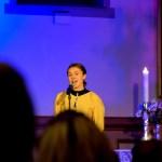 FÅR KARRIERESTIPEND: Caroline Kristiansen (18) fra Tromøy får tildelt karrierestipendet Talent Arendal. Arkivfoto