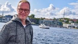 VALG 2019: Ivar Grødal fra Tromøy er tredjekandidat for Venstre til lokalvalget. Han ivrer for blant annet kollektivtilbudet, næringsutvikling og er kritisk til Hove-prosessen. Lokalavisen Geita har møtt mannen som vil bli folkevalgt i Arendal til «podcast». Foto: Esben Holm Eskelund