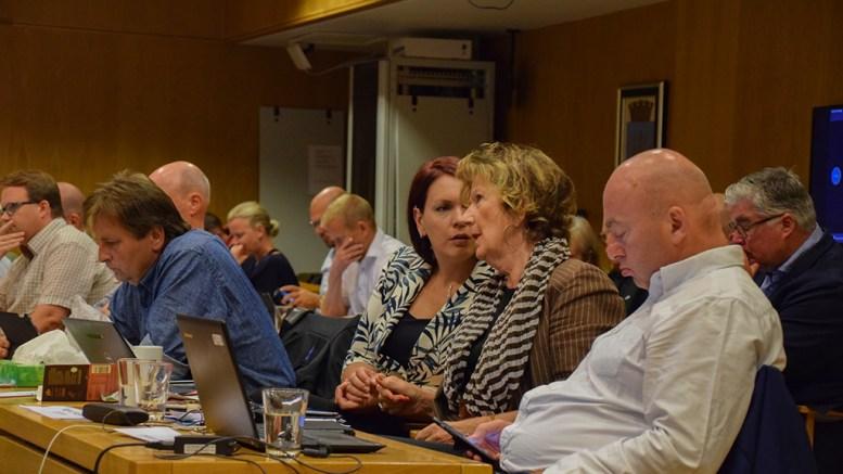 FIKK GJENNOMSLAG: Anders Kylland (Frp) fikk gjennomslag i bystyret for å utsette høringssvaret om besøksstrategi for Raet nasjonalpark. Foto: Esben Holm Eskelund