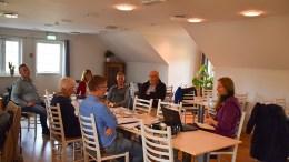 NASJONALPARKSENTER: Forsprosjektet for nasjonalparksenter er lagt på is, opplyste styreleder i Raet nasjonalpark, Robert C. Nordli i styremøte i forrige uke. Foto: Esben Holm Eskelund