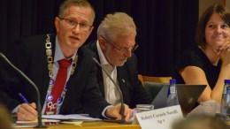 FORTSETTER: Ordfører Robert C. Nordli (Ap) er gjenvalgt til vervet frem til 2023. Foto: Esben Holm Eskelund