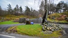 BLE ETTERGODKJENT: Rivingen av låven i Markvig førte til varsel om retting og tvangsmulkt, men ble siden ettergodkjent. Foto: Esben Holm Eskelund