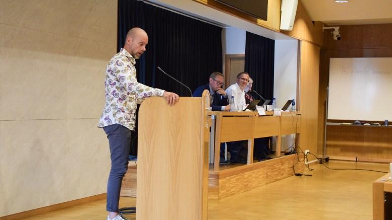 PÅ VEI TILBAKE: Pål Koren Pedersen er på vei tilbake til fast plass i bystyret for Venstre. Foto: Esben Holm Eskelund