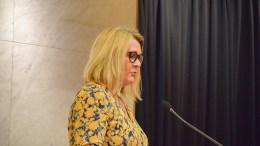 SKOLEUTVALGET: Cathrine Krogstad Hansen (Ap) har fått lederoppgaven i skoleutvalget, der to tromøymenn har fått innpass. Foto: Esben Holm Eskelund
