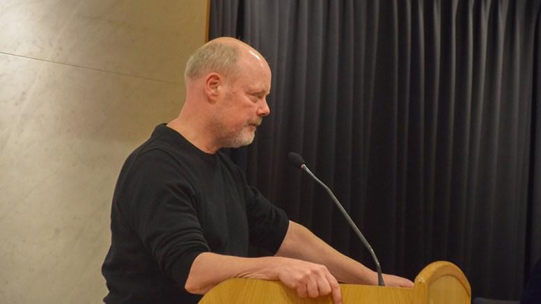 LNF-ALTERNATIVET: SVs Einar Krafft Myhren mener det ikke er tvil om at det er LNF-alternativet som er rett løsning for Hoveodden. Arkivfoto