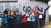FRILUFTSENTUSIASTER: Friluftsgruppa i Tromøy menighet ønsker seg enda flere medlemmer i 2020. Foto: Tromøy menighet