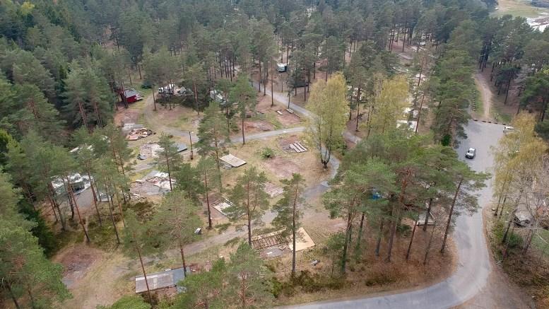 REGULERINGSPLAN: I neste måned er det ventet at bystyret vil fatte vedtak om campingarealet på Hove skal være grøntområde eller camping. Arkivfoto