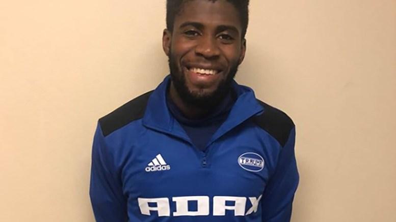 NY SIGNERING: Marcel Ngoie Musonda har blir Trauma-spiller. Foto: Tor Ole Dalen / Instagram