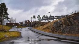 BRONESET: I dag er Broneset blitt et boligområde. Foto: Esben Holm Eskelund