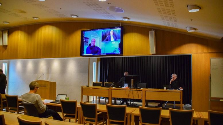FORMANNSKAPSMØTE: På formannskapsmøtet torsdag ble temaet nattåpne barnehager for å frigjøre helsepersonell til innsats mot koronapandemien løftet opp politisk. Foto: Esben Holm Eskelund