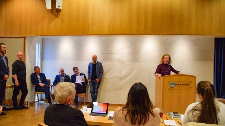 VENTET RESULTAT: Bystyremedlem Kristina Stenlund Larsen (uavh.) er ikke skuffet over utfallet av Hove-saken, og mener det var ventet. Foto: Esben Holm Eskelund
