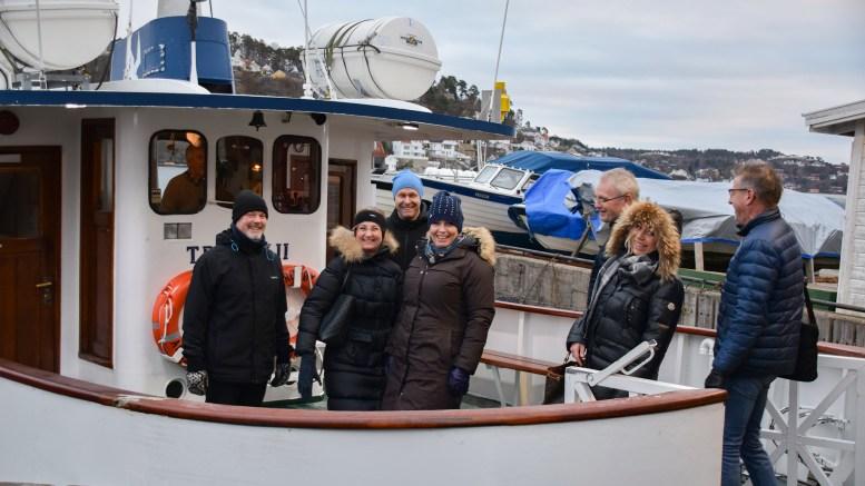 UTSLIPPSFRITT: Politikerne i Arendal har vedtatt at ferjetilbudet i indre havn skal være utslippsfritt og offentlig fra august 2022. Nå ligger tidsrammen an til å sprekke. Arkivfoto