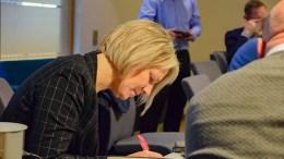 BOPLIKT: Inger Brokka de Ruiter (SV) er en av politikerne som vil ha boplikten innført i Arendal igjen. Arkivfoto