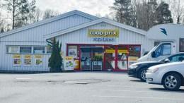 NY MATBUTIKK: Arendal kommune har mottatt søknad om å få rive den eksisterende butikken på Kongshavn, og bygge et nytt og mer tidsriktig forretningsbygg. Arkivfoto