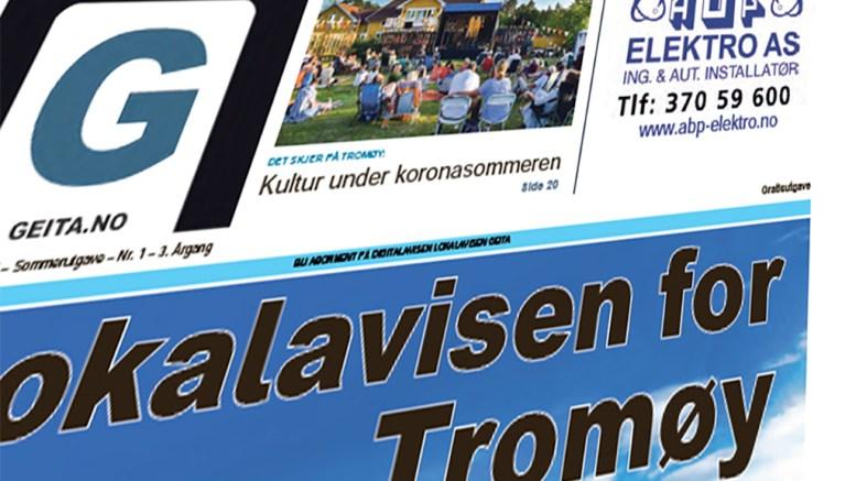 SOMMERUTGAVE: Her finner du digitalversjonen av papiravisen for Tromøy, sommeren 2020.
