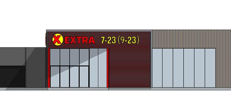 NY BUTIKK: Coop-butikken på Kongshavn skal rives og bygges ny. Illustrasjon: Bas Arkitekter AS