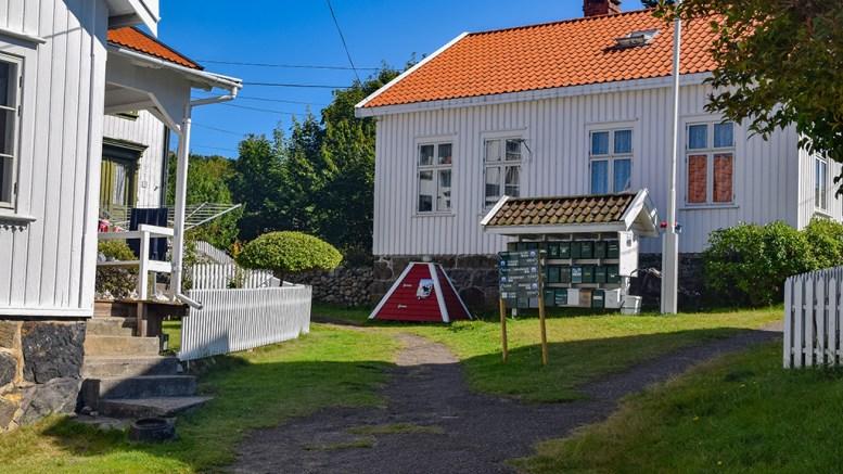SØPPELHÅNDTERING: Hytteeier på Merdø klager over et dårligere tilbud fra Agder Renovasjon IKS på Merdø. Foto: Esben Holm Eskelund