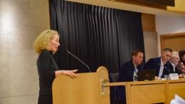 HAR SOLGT SJELA: – Arendal Ap har virkelig ikke solgt seg selv til høyresiden hverken i Hove-saken eller ved fjorårets budsjettbehandling. De har gitt avkall på Arbeiderpartiets stolte historie og sin egen integritet helt gratis, mener bystyrepresentant Kristina Stenlund Larsen (uavh.). Arkivfoto